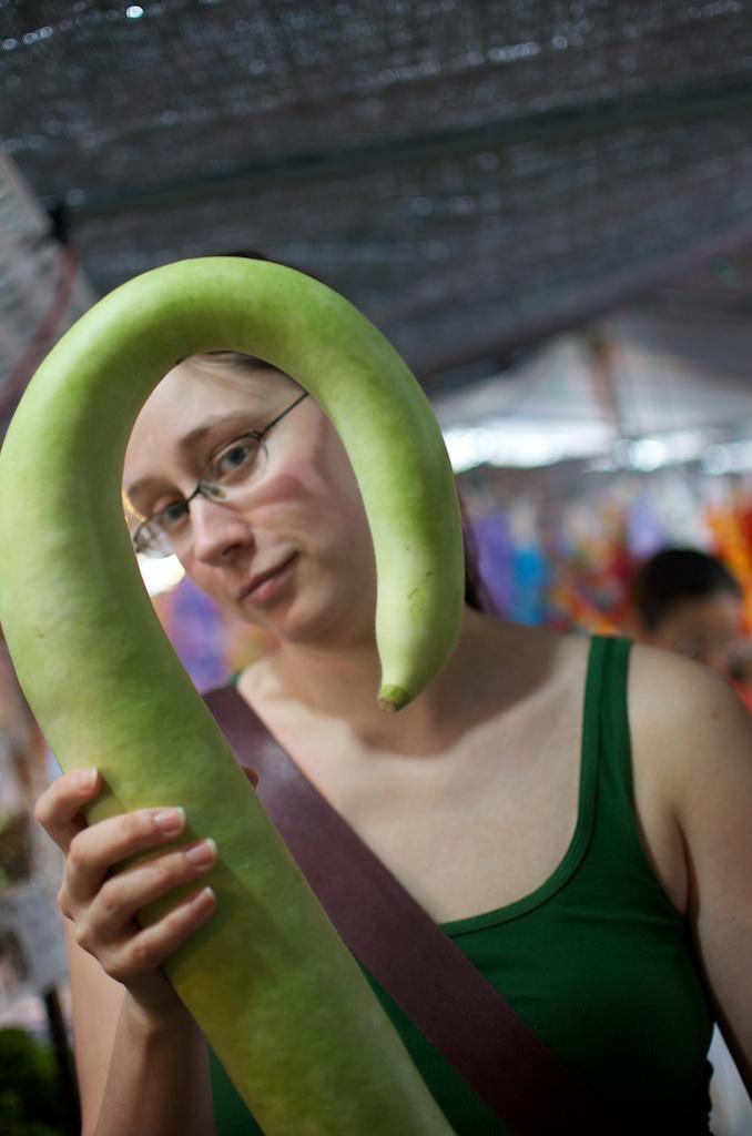 Kona Farmers Market & the Mystery Vegetable