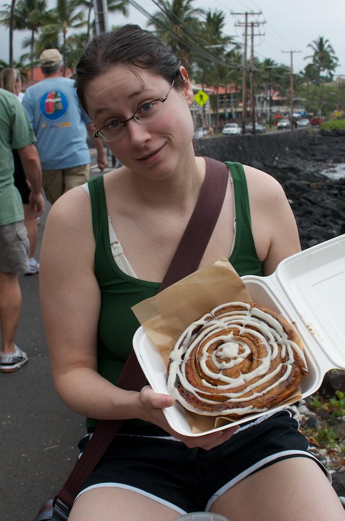 Giant Cinnamon Bun